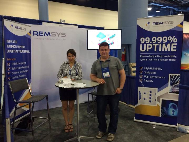 Remsys participation at HostingCon 2014